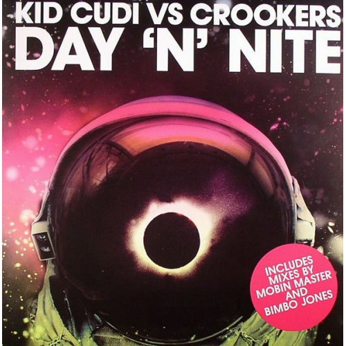 """Kid Cudi vs Crookers - Day 'N' Nite, 12"""""""