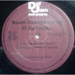 """South Central Cartel - All Day Everyday, 12"""", Promo"""
