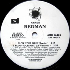 "Redman - Blow Your Mind, 12"", Promo"