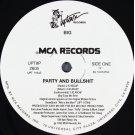 "BIG - Party And Bullshit, 12"""