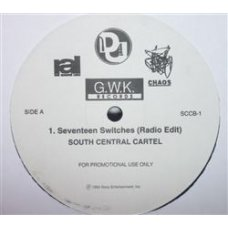 """South Central Cartel - Seventeen Switches, 12"""", Promo"""