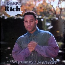 "Romeo Rich - Somethin For Everybody, 12"", Promo"