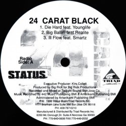 Various - 24 Carat Black, LP, Sampler