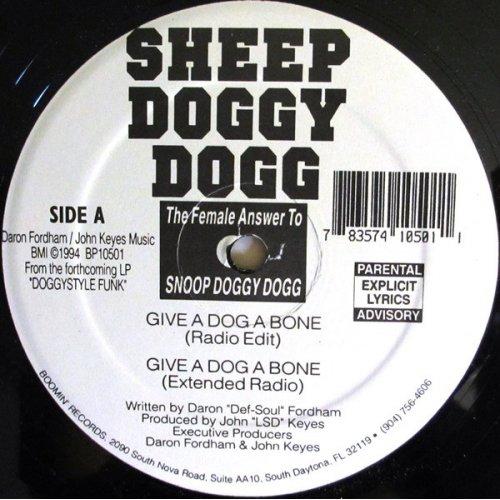 """Sheep Doggy Dogg - Give A Dog A Bone, 12"""""""
