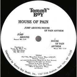 """House Of Pain - Jump Around / House Of Pain Anthem, 12"""", Reissue"""