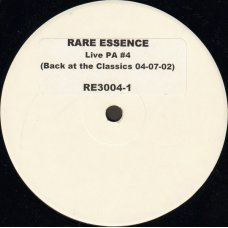 Rare Essence - Live PA #4 (Back At The Classics 04-07-02), LP