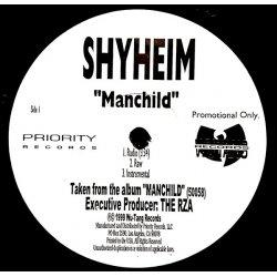 "Shyheim - Manchild / Furious Anger, 12"", Promo"