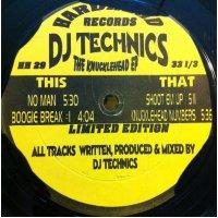 "DJ Technics - The Knucklehead EP, 12"", EP"