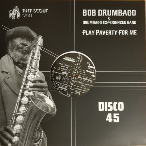 """Bob Drumbago & Drumbago Experienced Band - Play Paverty For Me, 12"""", Reissue"""