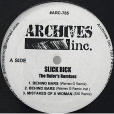 "Slick Rick - The Ruler's Remixes, 12"""