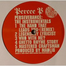Percee P - Perseverance: The Instrumentals, LP