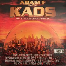 Adam F - Kaos The Anti-Acoustic Warfare, 3xLP