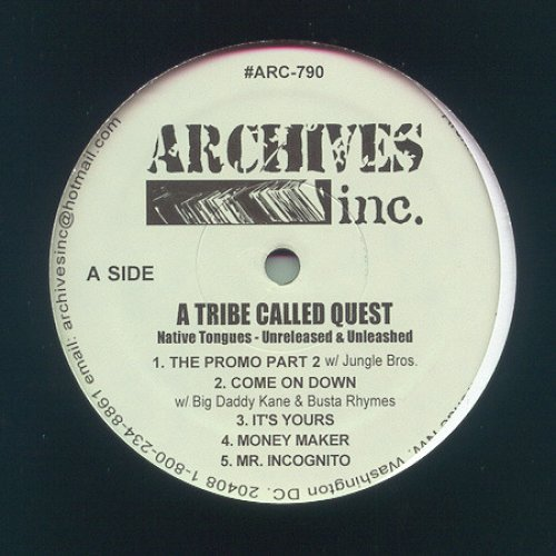 A Tribe Called Quest - Native Tongues - Unreleased & Unleashed, LP