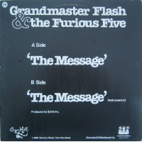 """Grandmaster Flash & The Furious Five - The Message, 12"""""""