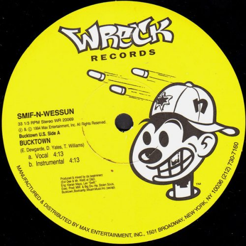 """Smif-N-Wessun - Bucktown / Let's Git It On, 12"""""""
