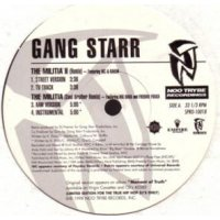 "Gang Starr - The Militia II (Remix) / 1/2 & 1/2, 12"""