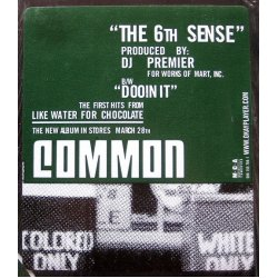 "Common - The 6th Sense / Dooinit, 12"""