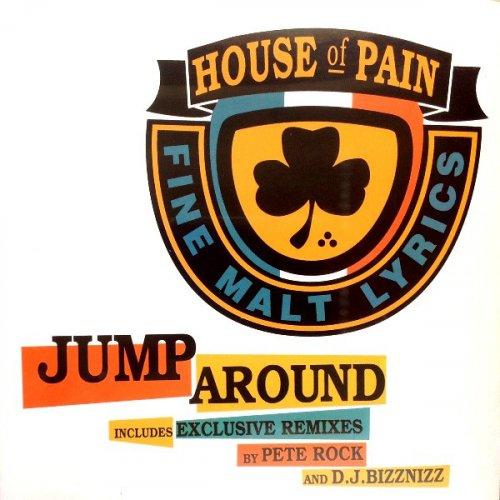 """House Of Pain - Jump Around, 12"""", Repress"""
