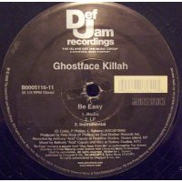 "Ghostface Killah - Be Easy, 12"""