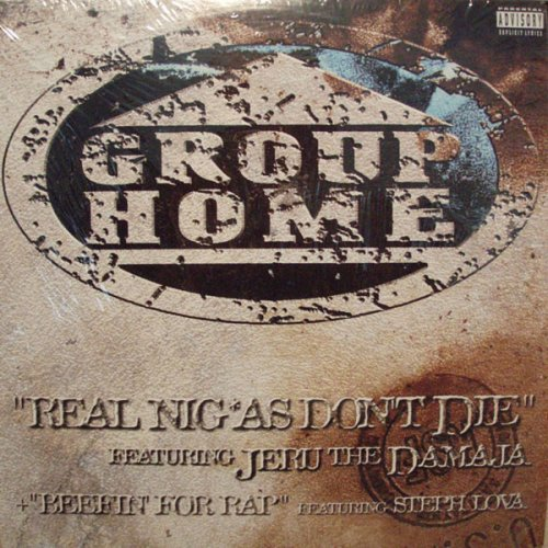 """Group Home - Real Niggas Don't Die / Beefin' For Rap, 12"""""""
