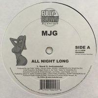 "MJG - All Night Long, 12"""