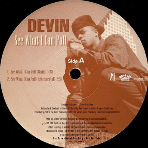 """Devin - See What I Can Pull / Georgy, 12"""", Promo"""