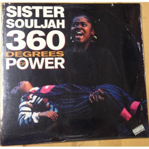 Sister Souljah - 360 Degrees Of Power, LP