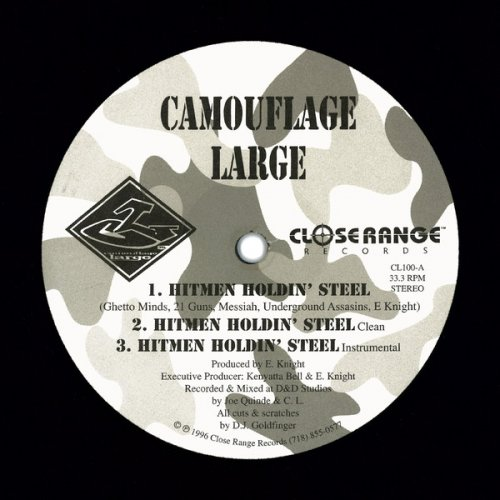 "Camouflage Large - Hitmen Holdin' Steel / Cocbacda 9, 12"""