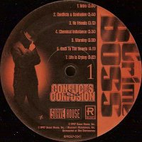 Crime Boss - Conflicts & Confusion, LP, Promo