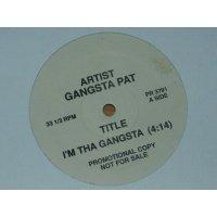 """Gangsta Pat - I'm Tha Gangsta, 12"""", Promo"""