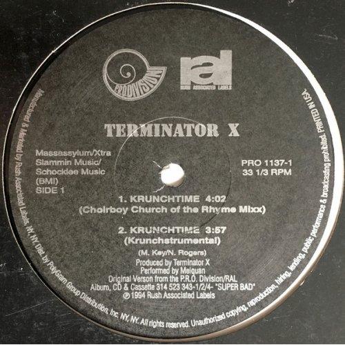 "Terminator X - Krunchtime, 12"""