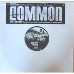 """Common - The Corner, 12"""", Promo"""