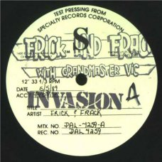 "Frick 'N' Frack - Look Out, 12"", Test Pressing"