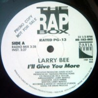 """Larry Bee - I'll Give You More, 12"""""""