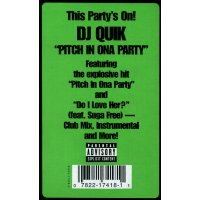 """DJ Quik - Pitch In Ona Party, 12"""", Stereo"""