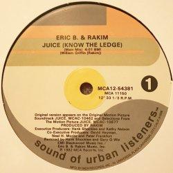 "Eric B. & Rakim - Juice (Know The Ledge), 12"""