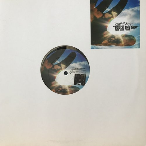 """Kanye West - Touch The Sky, 12"""", Promo"""
