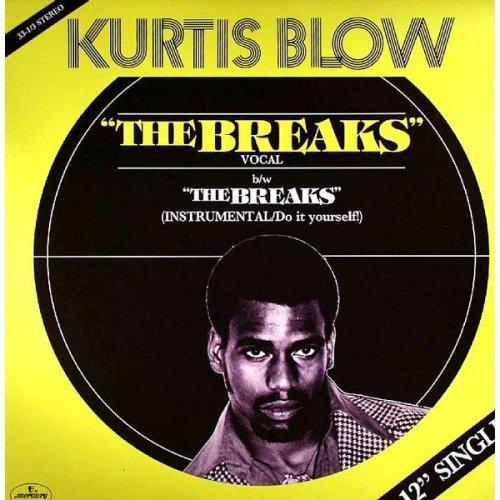 "Kurtis Blow - The Breaks, 12"""