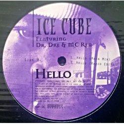 "Ice Cube Featuring Dr. Dre & MC Ren - Hello, 12"", Promo"