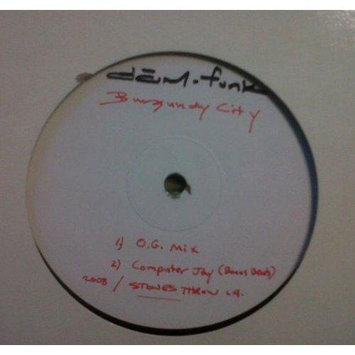 "Dâm-funk - Burgundy City, 12"""
