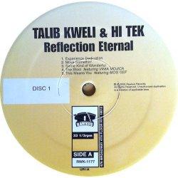 Talib Kweli & Hi Tek : Reflection Eternal - Train Of Thought, 2xLP, Promo