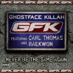 "Ghostface Killah - Never Be The Same Again, 12"", Promo"