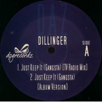 "Daz Dillinger - Just Keep It (Gangsta), 2x12"""