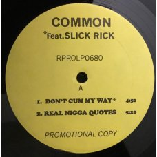 "Common - Retrospect For Life, 12"", Promo"
