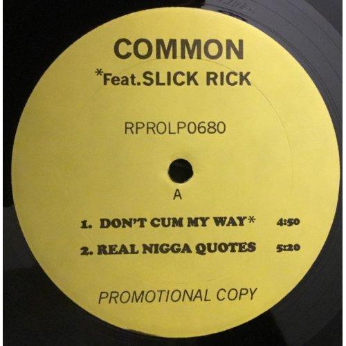 """Common - Retrospect For Life, 12"""", Promo"""