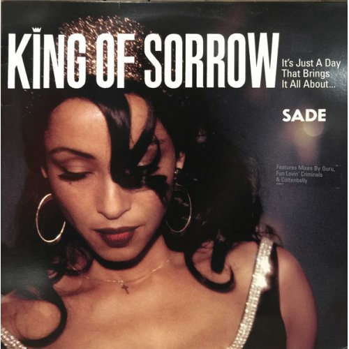 """Sade - King Of Sorrow, 12"""""""