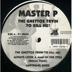 Master P - The Ghettos Tryin To Kill Me!, 2xLP, Reissue
