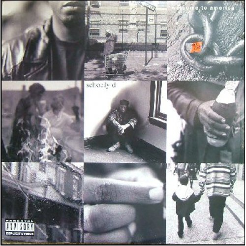 Schooly D - Welcome To America, LP