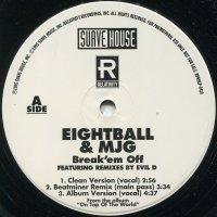 "Eightball & MJG - Break 'Em Off, 12"", Promo"