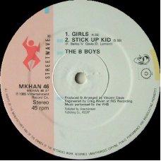 """The B-Boys - Girls, 12"""", 45 RPM"""